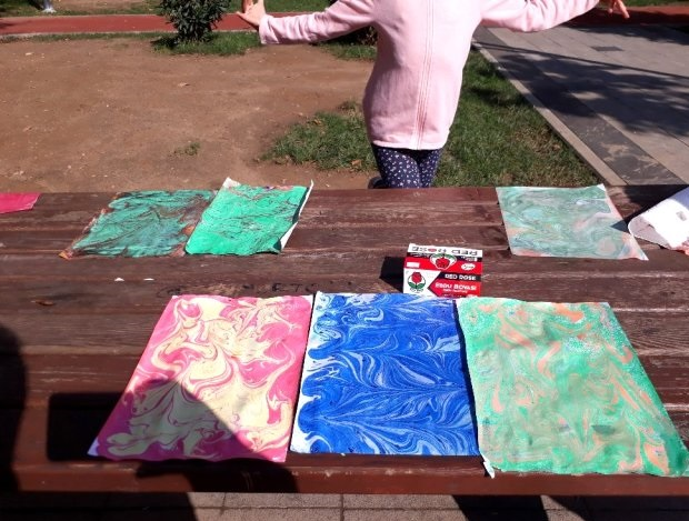 Okulu Özleyen Öğrencilere Parkta Etkinlik (3)