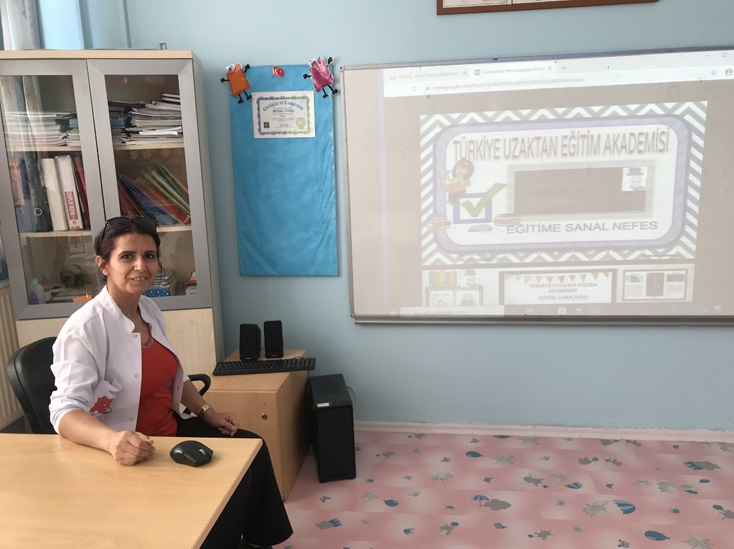 Online Eğitime Gönüllü Öğretmen Desteği (1)